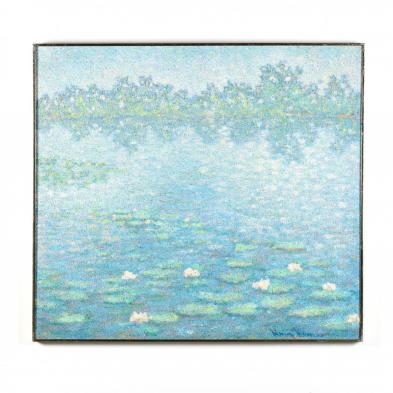 Henry Benson (NY/FL, 1930-1988), Waterlilies
