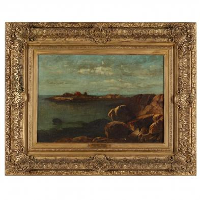 Julian Rix (CA/VT, 1850-1903), <i>The Maine Coast</i>