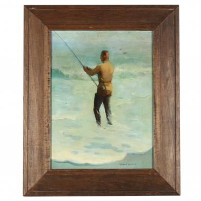 William Goadby Lawrence (1913-2002), <i>The Surf Catcher</i>