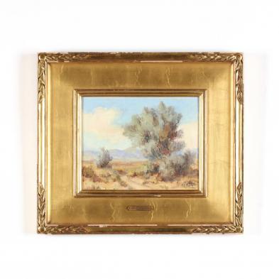 Vera C. M. Staples (CA, 1883-1954), <i>The Smoke Tree</i>