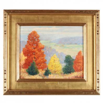 Frank Nuderscher (MI 1880-1959), Autumn Landscape