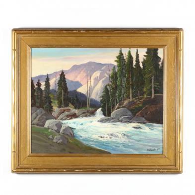 George Bickerstaff (CA/AR, 1893-1954), Roaring River