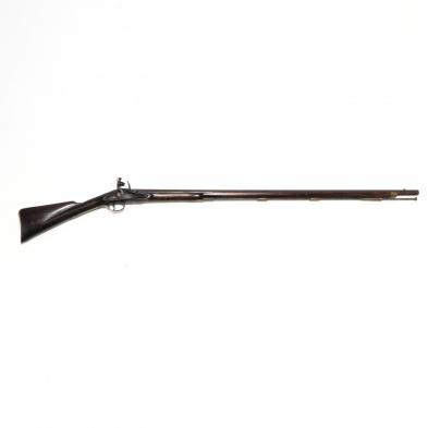 English Commercial Military-Style Flintlock Musket