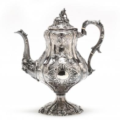 A 19th Century American Sterling Silver Coffee Service