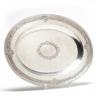 A Baltimore Silversmiths Mfg. Co. Sterling Silver Tray