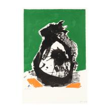 Robert Motherwell (American, 1915–1991), Untitled (from The Basque Suite)