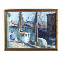 Adele Williams (VA/NY, 1868-1952), Gloucester Harbor