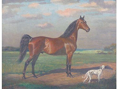 George Ford Morris (NY, 1873-1960), Saddle Horse,