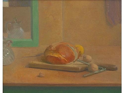Lennart Anderson (NY, b. 1928), Still Life, oil on