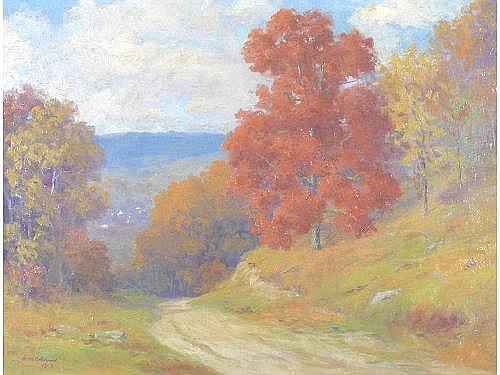 William R. C. Wood (MD, 1875-1915), Autumn Road,