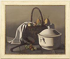 Pierre Jouffroy (Fr., 1912-2000), Still Life