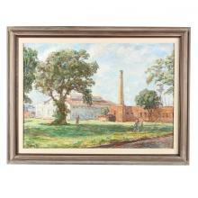 Sarah Blakeslee (NC, 1912-2005), Old Factories, Greenville