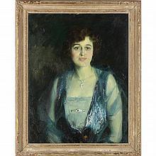 Louis Betts (1873-1961), Portrait of a Lady