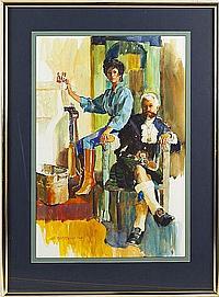 Arne Westerman (b. 1927), Highland Dress