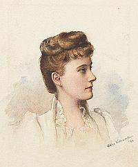 Adele Williams (VA, 1868-1952), Portrait