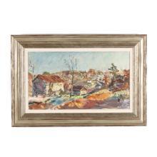 Sarah Blakeslee (American, 1912-2005), Rural Landscape