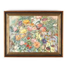 Sarah Blakeslee (NC, 1912-2005), Still Life of Flowers