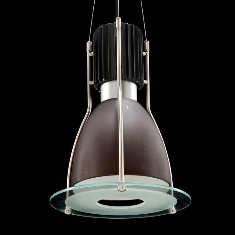 Lightolier Set Of Four Pendalyte Hanging Lights