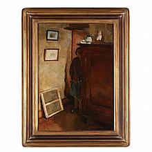 Richard Maguet (French, 1896-1940), Interior