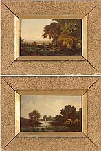 Pair of Hudson River School Landscapes