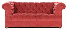 Chesterfield Style Upholstered Sofa