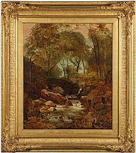 Thomas Creswick (English, 1811-1869), The Falls