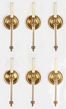 Set of Six Classical Style Wall Sconces