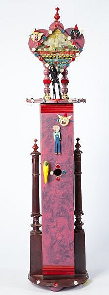 Benny Carter (NC, b. 1943), Tall Case Clock