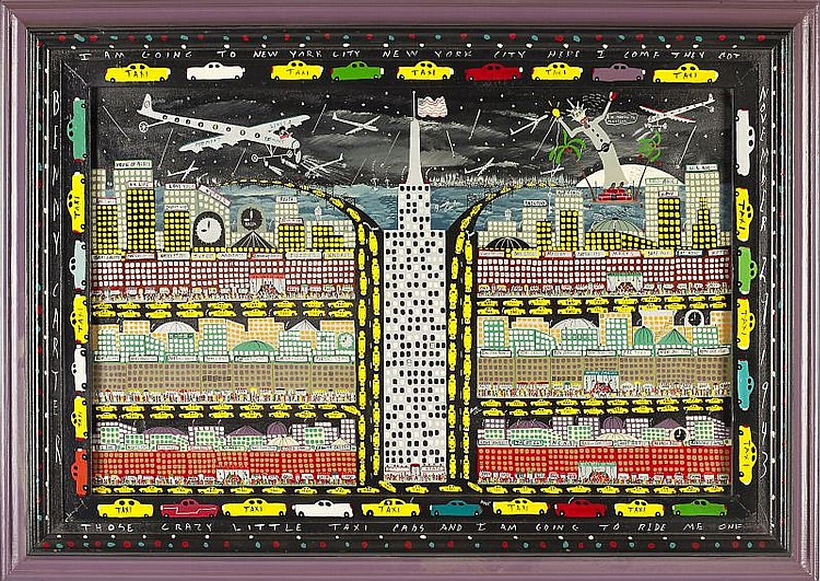Benny Carter (NC, b. 1943), Empire State Building