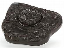 Chinese Porcelain Lidded Ink Stone