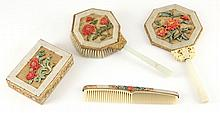 Chinese Republic Period Lady's Vanity Set