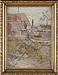 David B. Walkley (OH/CT, 1849-1934), Boat House, David Birdsey Walkley, Click for value