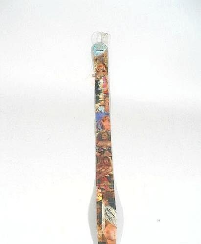 Vintage Nude Women Guitar Strap by Earth Strap,w/original hang tag.