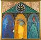 Paul Hrusovsky (NC), Untitled - Triptych