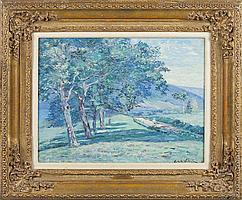 Emmanuel De La Villeon (Fr., 1858-1944), Landscape