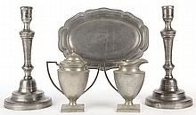 Group of Pewter