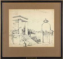 Edith Clark (VA, 1871-1946), Richmond Entrance
