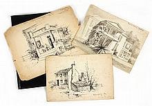 Portfolio of VA Sketches by Edith Clark
