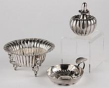 Three Silver Table Articles