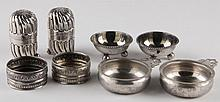 Sterling Silver Master Salts & Shakers