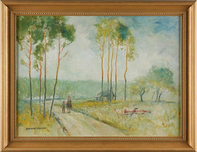 Grattan Condon (OR, 1887 - 1966), Leaving Home,