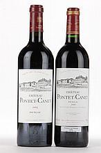 2000 & 2005 Chateau Pontet Canet