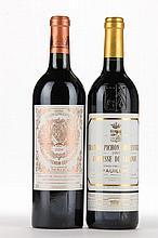 1995 Pichon Lalande & 2004 Pichon Baron
