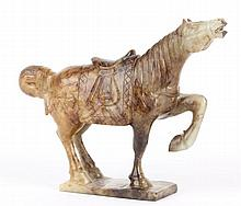 Chinese Carved Jade Horse