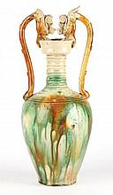 Chinese Sancai Glazed Amphora
