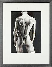 S. Tucker Cooke (NC, b. 1941), Male Nude