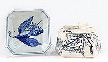 Susumu Ikuta (NC, b. 1934), Two Pieces