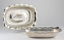Pair of Whiting Sterling Silver Serving Bowls
