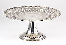 Tiffany & Co. Sterling Silver Pedestal Cake Stand