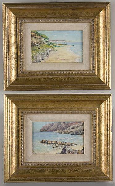 Elizabeth Norton (CA, 1887-1985), Two Coastlines